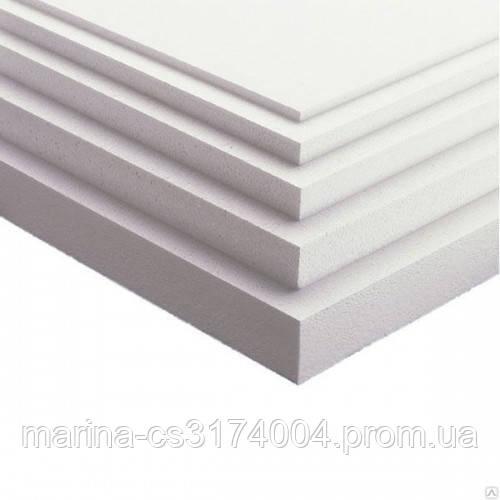 Пенопласт плотность-25, 50х1000х500 мм (8 кг) Евро (0,25м3/5м2/10шт/уп), м2