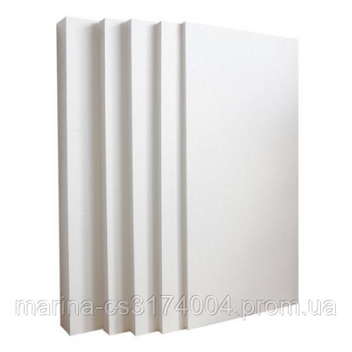 Пенопласт плотность-25, 100х1000х500 мм (8 кг) Евро (0,25м3/2,5м2/5шт/уп), м2