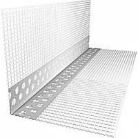 Профіль з СІТКОЮ перфорований алюмінієвий, 3м (кп)
