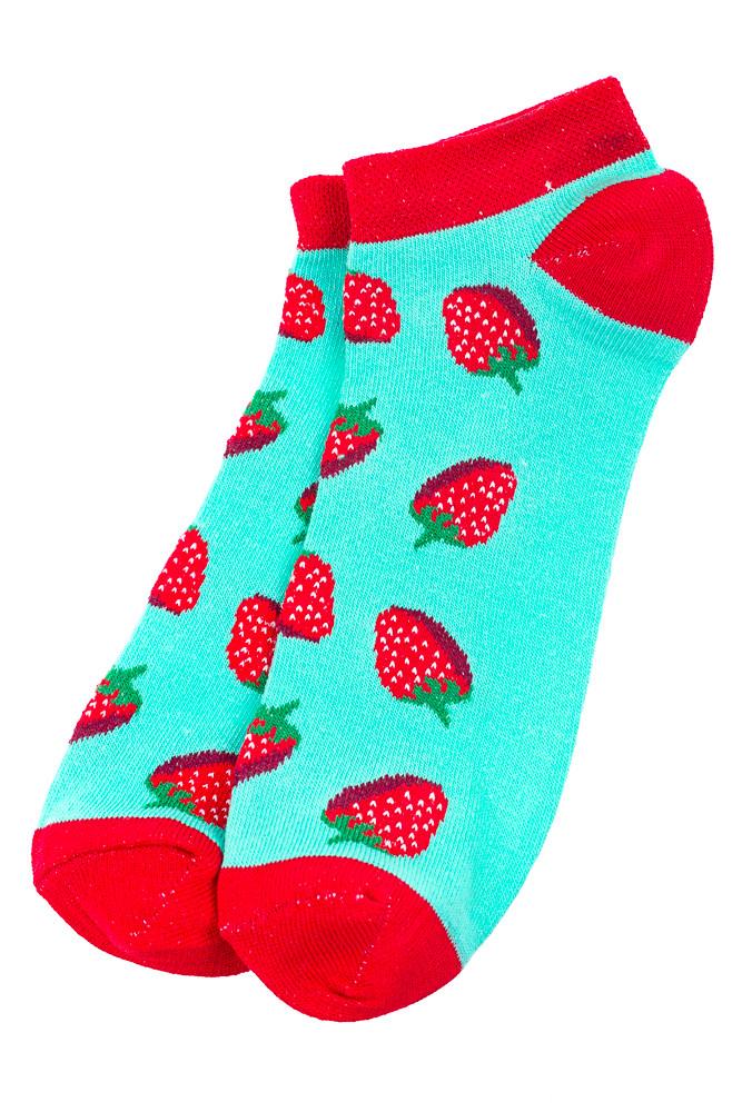 Носки женские  517F011-1 (Мятно-бордовый)