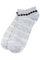 Носки женские 517F008-1 (Серо-черный), фото 1