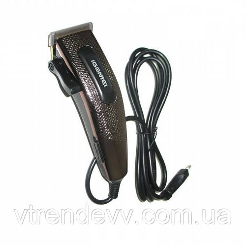 Машинка для стрижки волос Gemei GM-837 10 в 1 от сети 220V