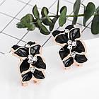 Серьги Цветы, фото 2