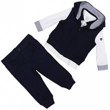Детский комплект для мальчика BABY A Италия E0621 Синий