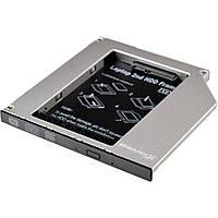 Фрейм-переходник Grand-X HDD 2.5'' to notebook 9.5 mm ODD SATA/mSATA (HDC-24)
