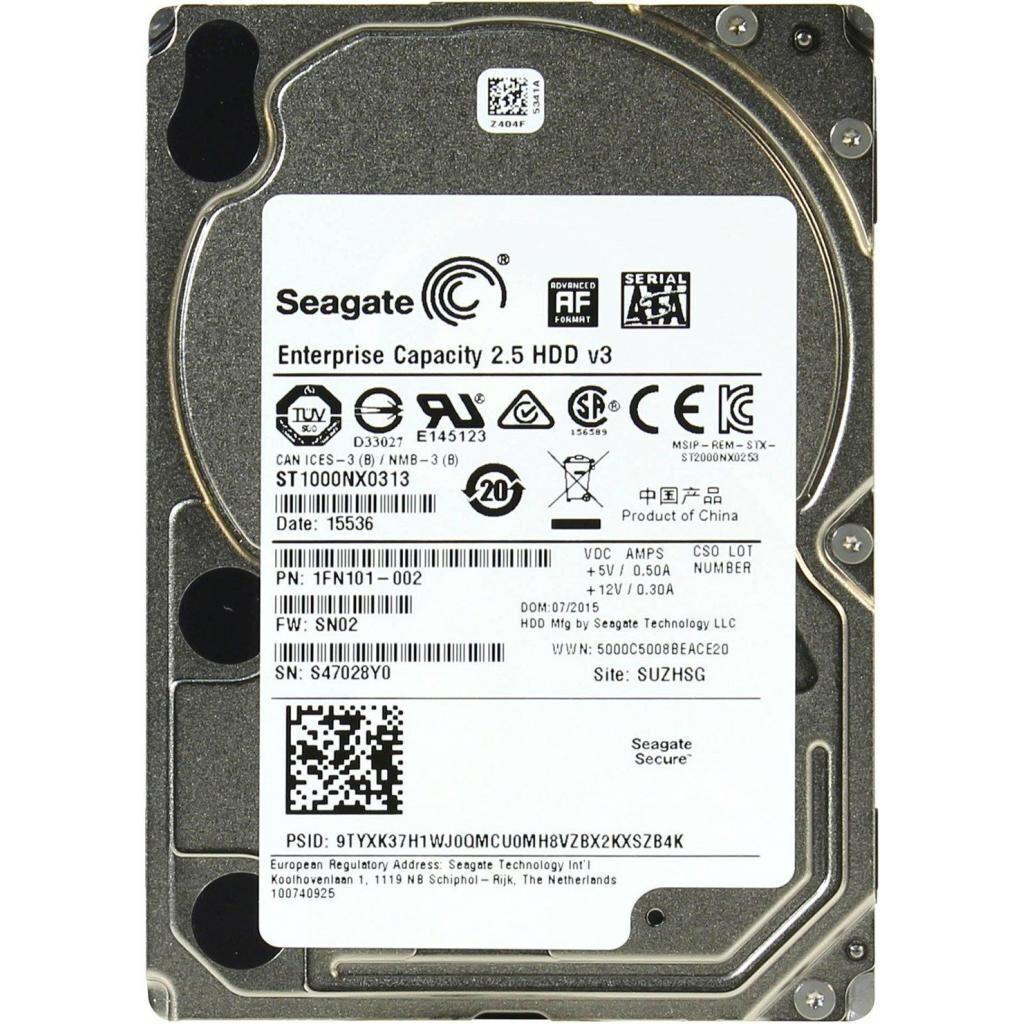 "Жесткий диск для сервера 2.5"" 1TB Seagate (ST1000NX0313)"