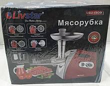Электромясорубка с соковыжималка Livstar LSU-1309 (реверс) 2500W