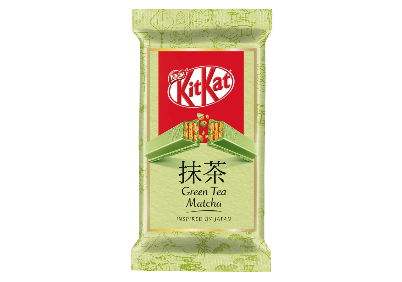 Белый шоколад Kit Kat Green Tea Matcha 41,5 g