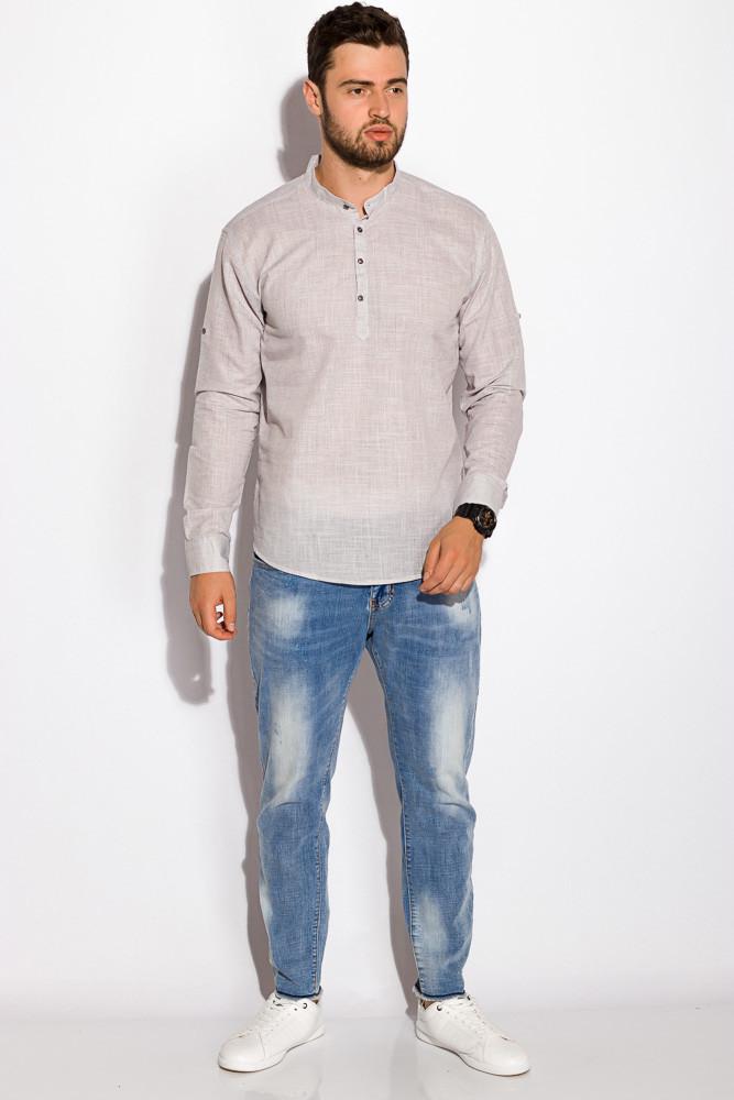 Рубашка 511F050 (Светло-серый)