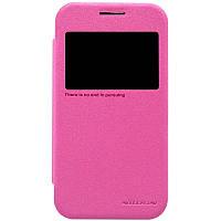 Чехол Nillkin Sparkle Leather Case Samsung Galaxy Core Prime G360/G361 pink