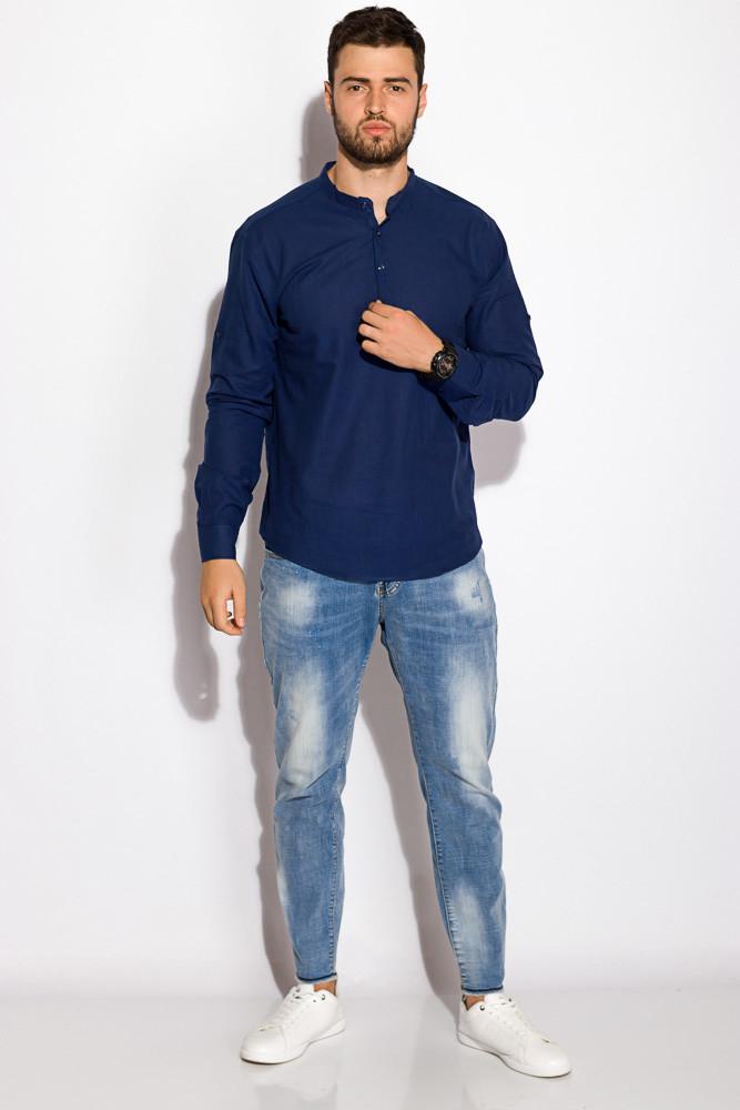 Рубашка 511F050 (Синий)