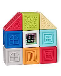 Развивающие силиконовые кубики Vibrant Village blocks Skip Hop