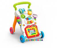Детский игровой центр, музыкальная каталка, ходунки Huanger HE0801 (музыка, свет)