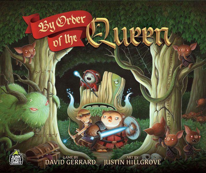 Настольная игра By Order of the Queen (Kickstarter)