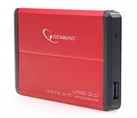 Карман внешний 2.5 Gembird EE2-U3S-2-R USB 3.0 red