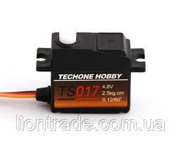 Сервопривод микро 17г TechOne TS017 2,5кг/0,12сек