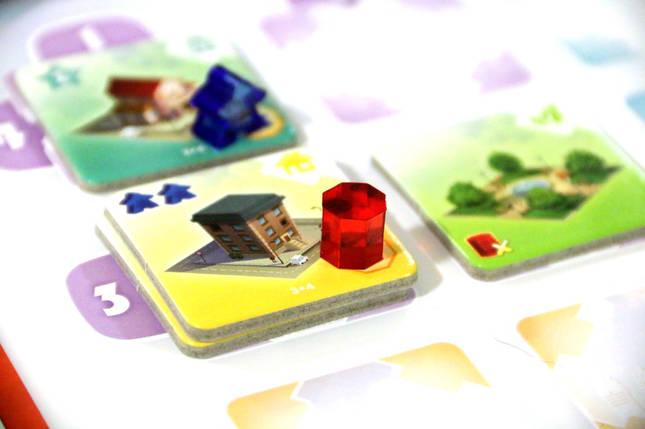 Настольная игра Quadropolis (City Mania, Квадрополис), фото 2