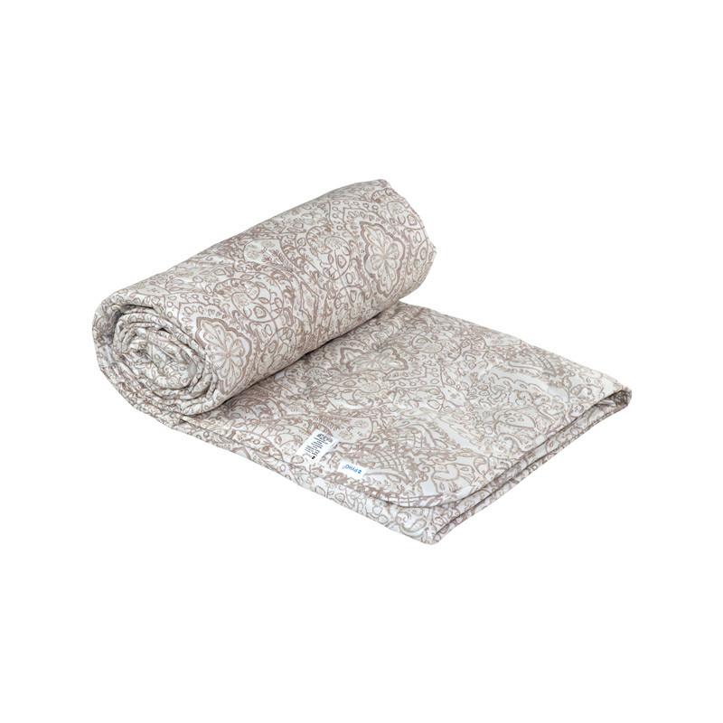 Одеяло шерстяное Руно Завиток летнее 140х205 полуторное