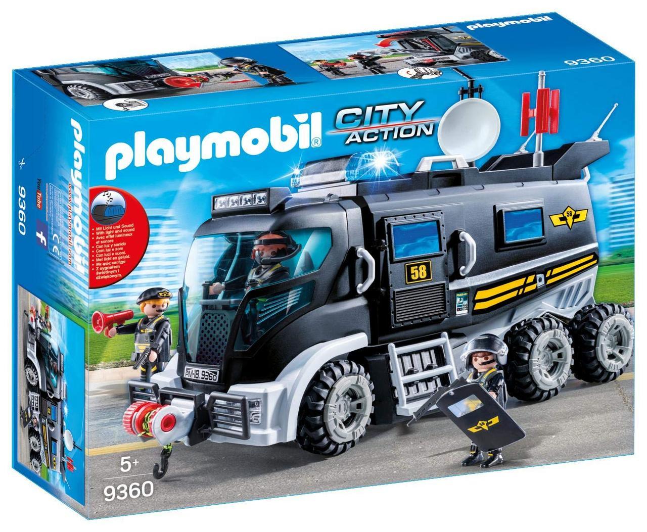 Игрушка детская Тактический автомобиль спецназа - Playmobil 9360