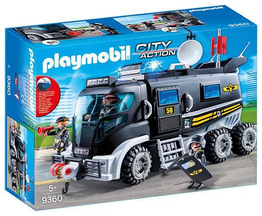 Игрушка детская Тактический автомобиль спецназа - Playmobil 9360 , фото 2