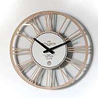 Настенные часы Декор Карпаты UGC004-С Glass Светлый дуб (DYLB21252)
