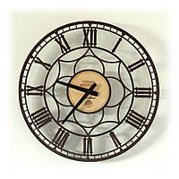 Настенные часы Декор Карпаты Premium UGP001 Montreal Темно-коричневый (NDGO78601)
