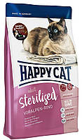 Сухой корм Хеппи Кет для стерилизованных кошек и котов Happy Cat Adult Sterilised