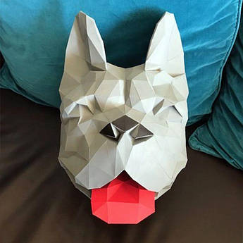 Papercraft  Голова собаки
