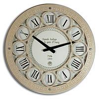 Настенные часы Декор Карпаты UGC003-В d Orsay Светло-коричневый (JbGF36651)