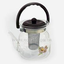Чайник заварювальний скляний