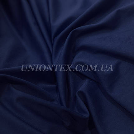 Трикотаж микродайвинг темно-синий, фото 2