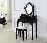 Туалетный столик с зеркалом и табурет