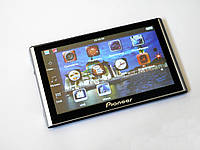 """Автомобильный GPS планшет-навигатор  7"""" Pioneer G708 -  8gb 800mhz 256mb IGO+Navitel+CityGuide"""