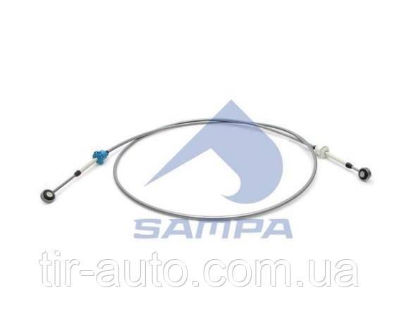 Трос ступенчатая коробка передач VOLVO, L: 3365 mm серый ( SAMPA ) 033.220