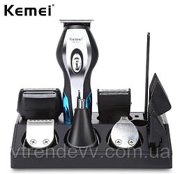 Машинка для стрижки волос триммер Kemei KM-5031 Super 11 в 1