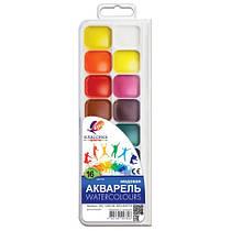 Фарби акварельні Промінь Класика 16 кольорів в пластиковій упаковці 19С1290-08