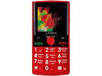 Мобильный телефон Sigma mobile Comfort 50 SOLO Red