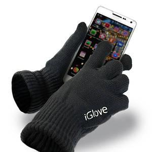 Перчатки iGlove для сенсорных экранов черные 149161