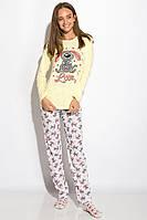 Пижама женская 317F084 (Лимонный), фото 1
