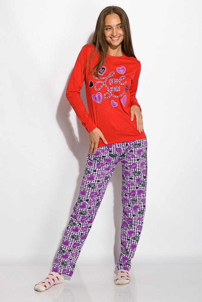 Пижама женская 317F085 (Красный)