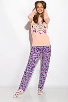 Пижама женская 317F085 (Персиковый), фото 1