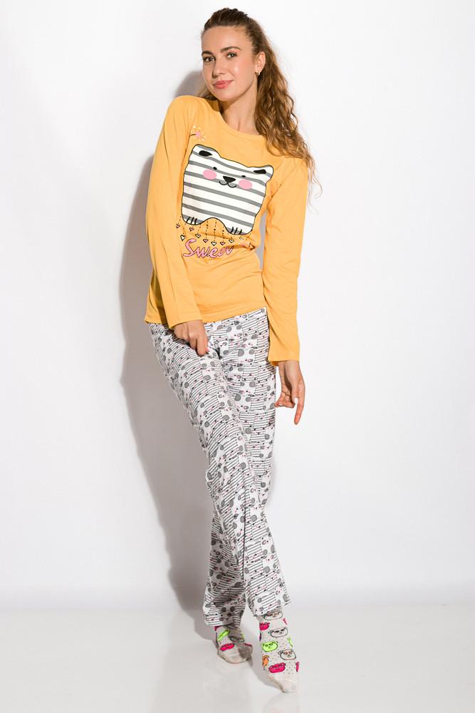Пижама женская 317F086 (Желтый)