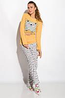 Пижама женская 317F086 (Желтый), фото 1