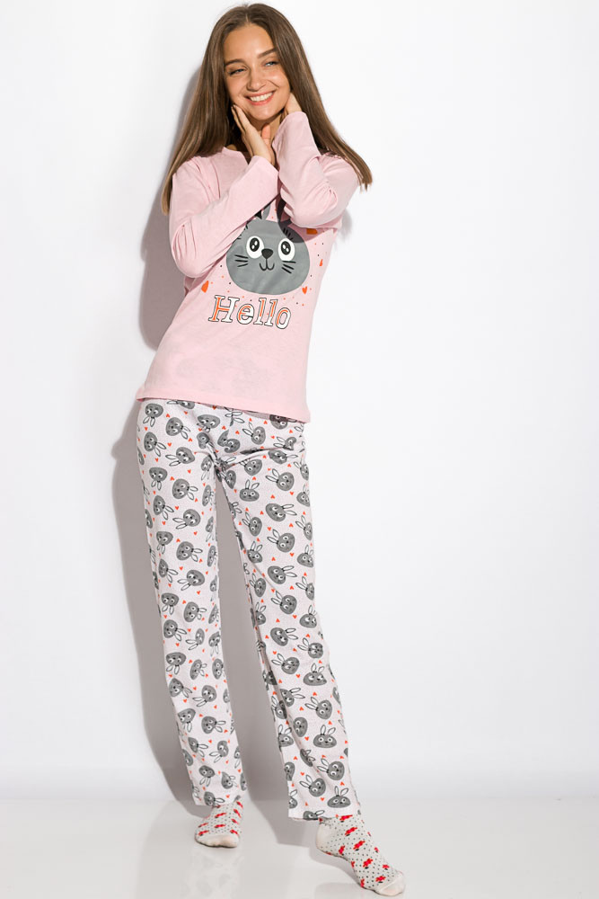 Пижама женская Розовая