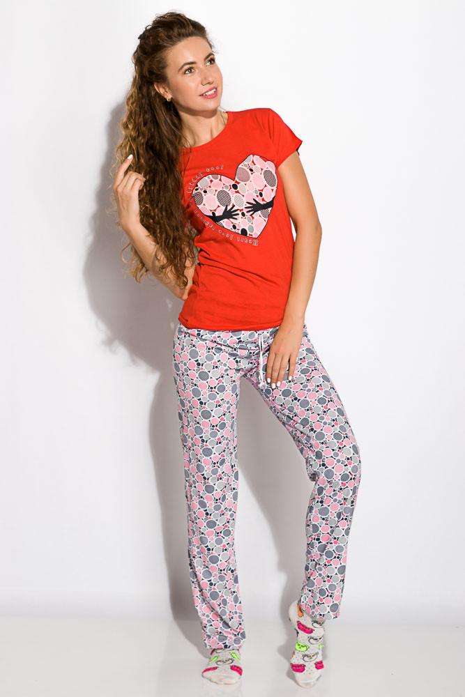 Пижама женская 317F088 (Красный)