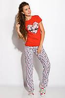 Пижама женская 317F088 (Красный), фото 1