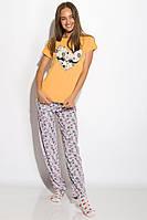 Пижама женская 317F088 (Желтый), фото 1