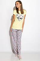 Пижама женская 317F088 (Лимонный), фото 1