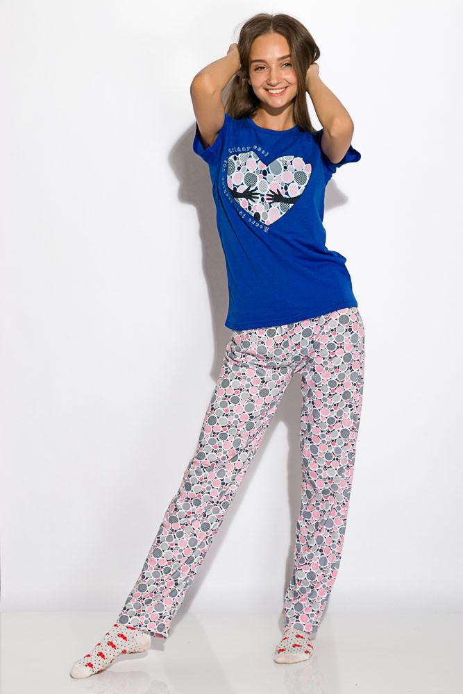 Пижама женская 317F088 (Синий)