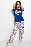 Пижама женская 317F088 (Синий), фото 1